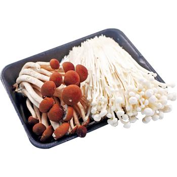 柳松菇+金針菇(250g+-5%/盒)