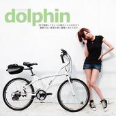 《AiBIKE》SHIMANO 24吋27速 大海豚小徑車 (珍珠白)