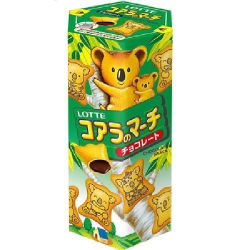 LOTTE 樂天小熊-巧克力(37g/盒)