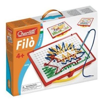 義大利 Quercetti 趣味穿線遊戲盒 Filo