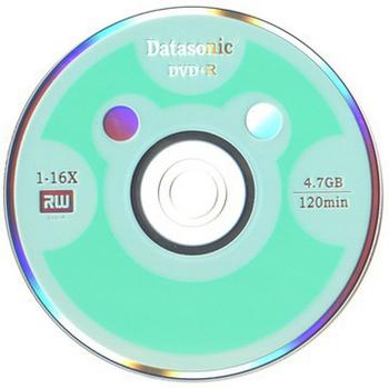 Datasonic 小熊版DVD+R 16X燒錄片(600片)