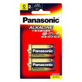 《Panasonic》鹼性電池2號2入