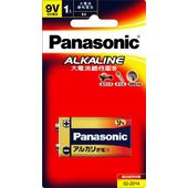 《Panasonic》鹼性電池9V1入(6LR61TTS/1B)