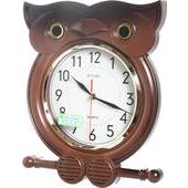 《泰風》貓頭鷹造型掛鐘