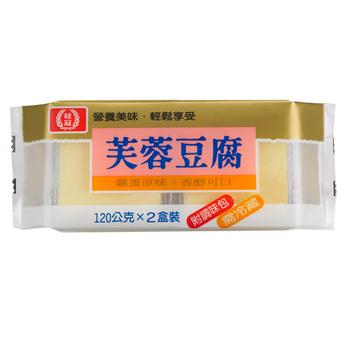 桂冠 芙蓉豆腐(120gx2盒/包)