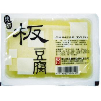 大漢 傳統板豆腐(400g/盒)