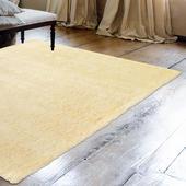《Ambience》進口Bonnie類兔絨長毛毯-乳黃色(70x140cm)