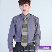 《JIA HUEI》長袖男仕防皺襯衫 613 灰黑色(16.5)