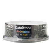 DataStone 超A+ 藍光 Blu-ray 6x BD-R 25GB 珍珠白滿版可印片(支援CPRM/BS) 25P