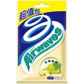 《Airwaves》超涼無糖口香糖-冰釀葡萄(62g/袋)