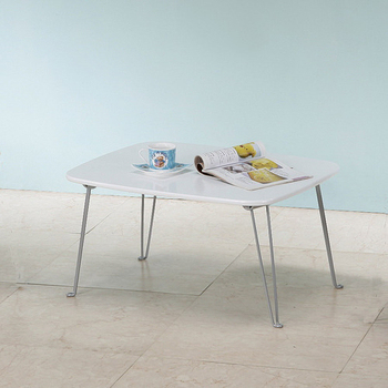 《C&B》日系粉彩可折腳和室桌(潔淨白)