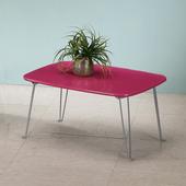 《C&B》日系粉彩可折腳和室桌(桃花紅)