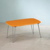 《C&B》日系粉彩可折腳和室桌(活力橘)