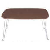 《C&B》日系粉彩可折腳和室桌(咖啡色)