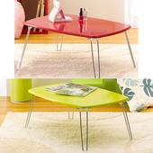 《C&B》日系粉彩可折腳和室桌(粉紅色)