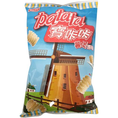 聯華 寶(口卡)(口卡)原味洋芋脆片(80g/包)