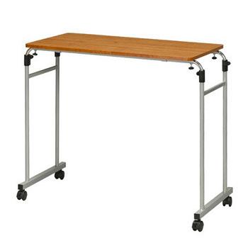 ★結帳現折★ 《C&B》森田伸縮式活動床邊桌(深木紋桌板)