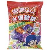 《乖乖》QQ水果軟糖量販包(340g/袋)