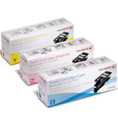 《FujiXerox》CP105b/CP205/CM205b 原廠彩色碳粉匣組合(3彩)