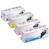 《FujiXerox》CP105b/CP205/CM205b 原廠碳粉匣組合(1黑3彩)