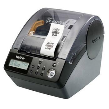 《brother》QL-650TD 時間、日期、食品新鮮度列印機