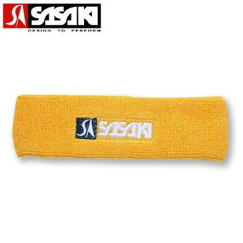 SASAKI 護頭帶 - 超強吸汗處理(金黃)