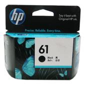 《HP》HP 61 (CH561WA) 原廠黑色墨水匣(HP 61 原廠黑色墨水匣)