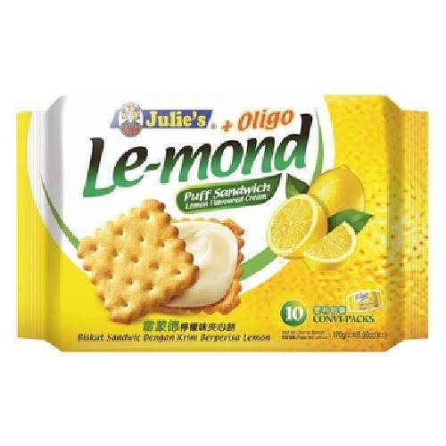《茱蒂絲》Julie's雷蒙德檸檬味夾心餅(170g/包)