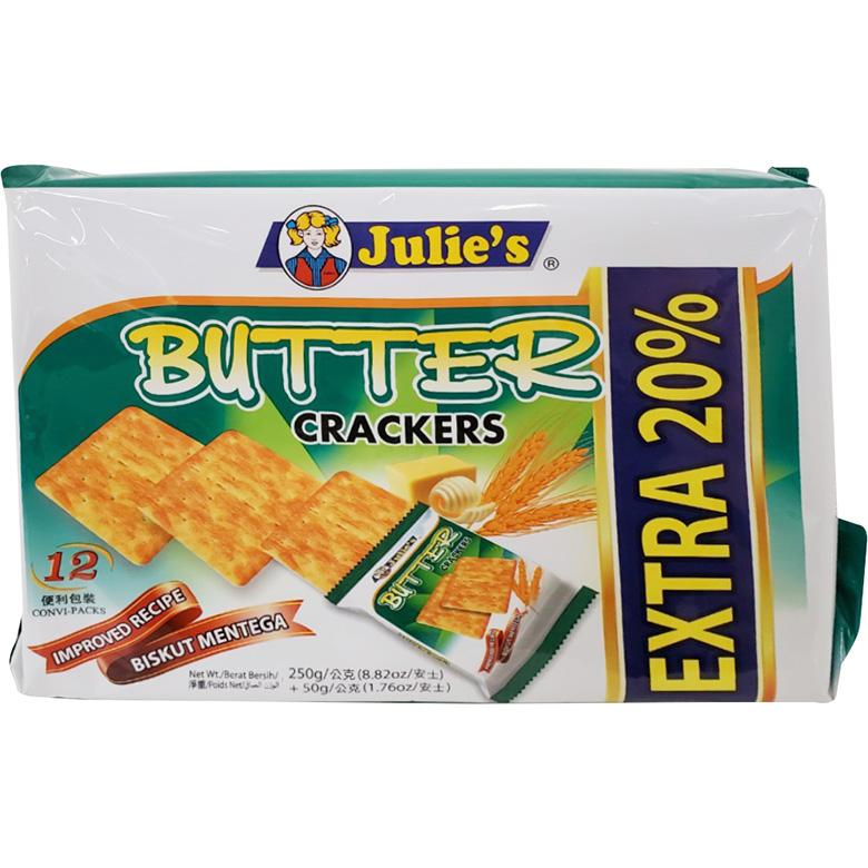 《茱蒂絲》Julies奶油蘇打餅(250g/包)