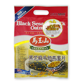 《馬玉山》黑芝麻牛奶燕麥片30gx10入/袋