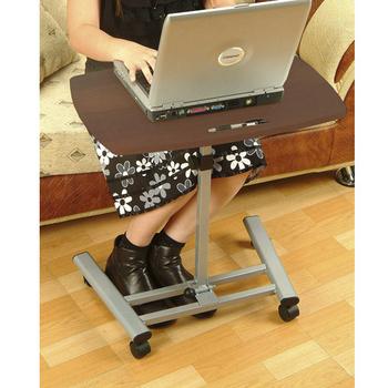 C&B 摺疊移動式筆記型電腦桌(深色桌板)