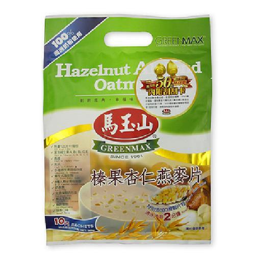 馬玉山 榛果杏仁燕麥片(30gx10包/袋)