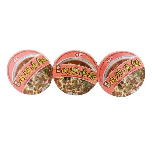 味王 香菇肉羹湯麵(88gx3入/組)
