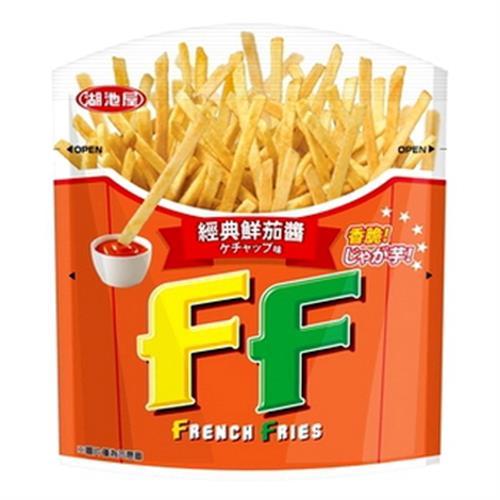 湖池屋 FF洋芋條-茄醬(50g/包)
