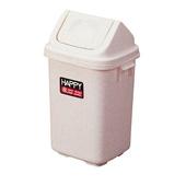 《法成》淑女附蓋垃圾桶-顏色隨機出貨(L21*W19.5*H34.5cm/6L)