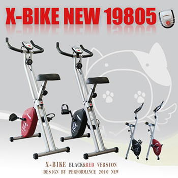 X-BIKE Performance 台灣精品 NEW19805 磁控健身車(紅色)