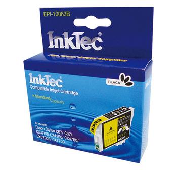 INKTEC(印可得) EPI-10063B(EPSON相容匣T0631黑色)(適用機型:EPSON STYLUS C67 CX3700 等)