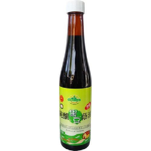 味榮 活力元氣純釀黑豆蔭油(油膏)(450g/瓶)