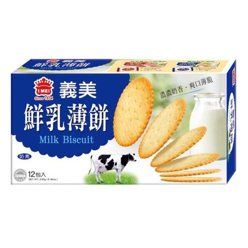 義美 鮮乳薄餅(240g/盒)