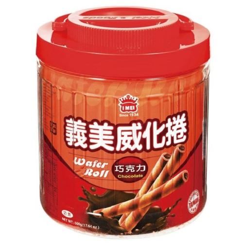 義美 威化卷巧克力(500公克/桶)