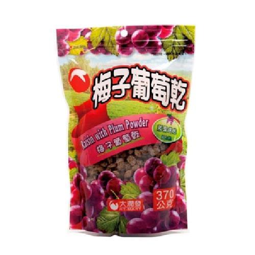 RT大潤發 梅子葡萄乾(370g/包)