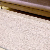 《Ambience》進口Bonnie類兔絨長毛毯-杏色(140x200cm)