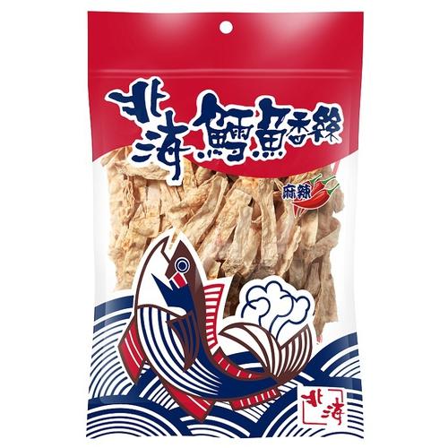 北海 鱈魚香絲-麻辣(136g+-7g/包)