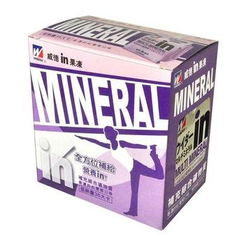 森永 威德果凍-綜合礦物質(180g*3包/盒)