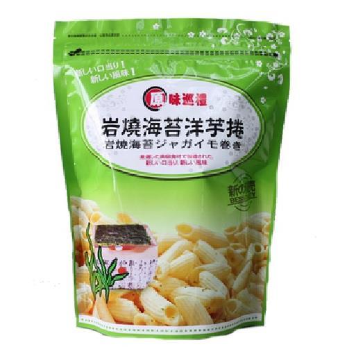 原味巡禮 海苔洋芋捲(90g/包)