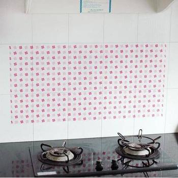 ★結帳現折★Bunny生活館 廚房防污貼紙磁磚貼紙隔油紙(五入)