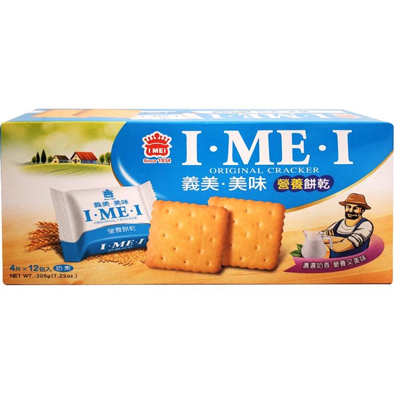 《義美》美味營養餅乾(205g/盒)