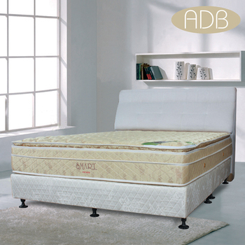 ★結帳現折★ADB 黛安娜頂級乳膠四線獨立筒床墊(6尺雙人加大)