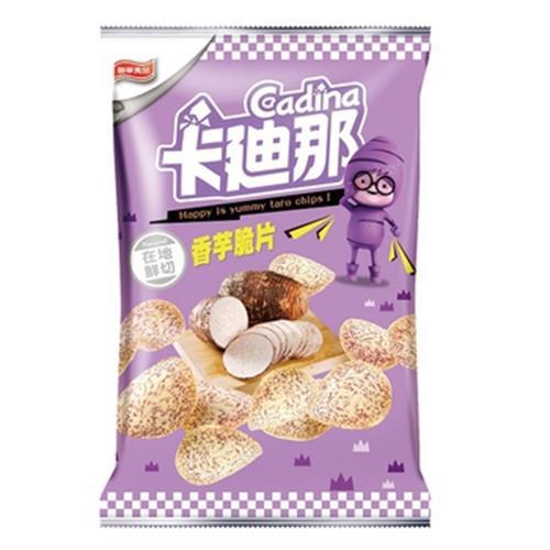 聯華 卡迪那台灣香芋脆片(80g/包)