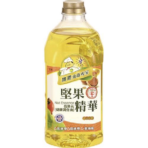 維義 堅果精華低多元健康調和油(2L/瓶)